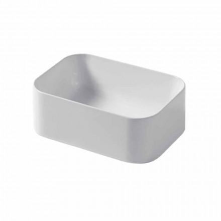 Countertop ceramic sink L 35cm Made in Italy Leivi