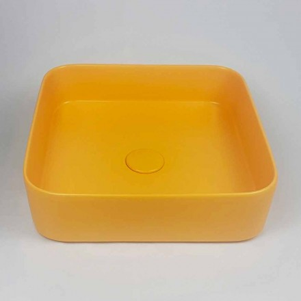 Modern Design Ceramic Countertop Washbasin Made in Italy - Dable