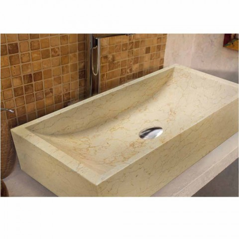 Countertop Support Square Stone Natural Beige Jakarta