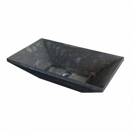 Natural black stone countertop washbasin Wok