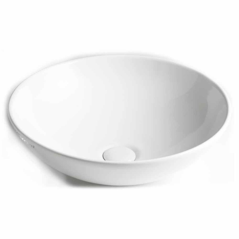 Ceramic Countertop Bowl Washbasin Made in Italy - Pimpi