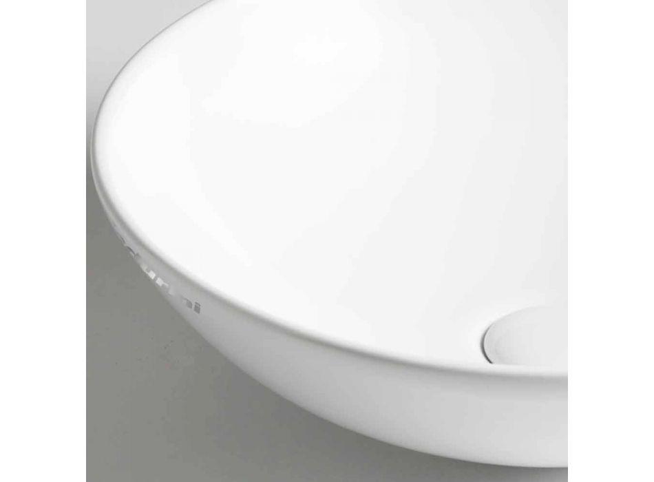 Ceramic Countertop Bowl Washbasin Made in Italy - Pimpi