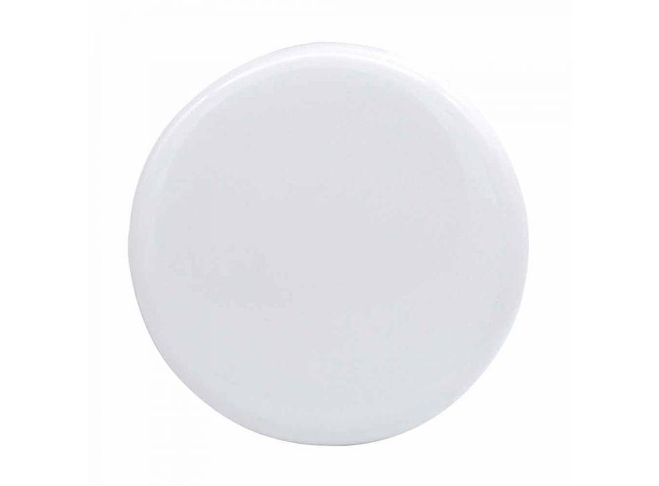 Countertop ceramic washbasin L 80cm made in Italy, Gaiola