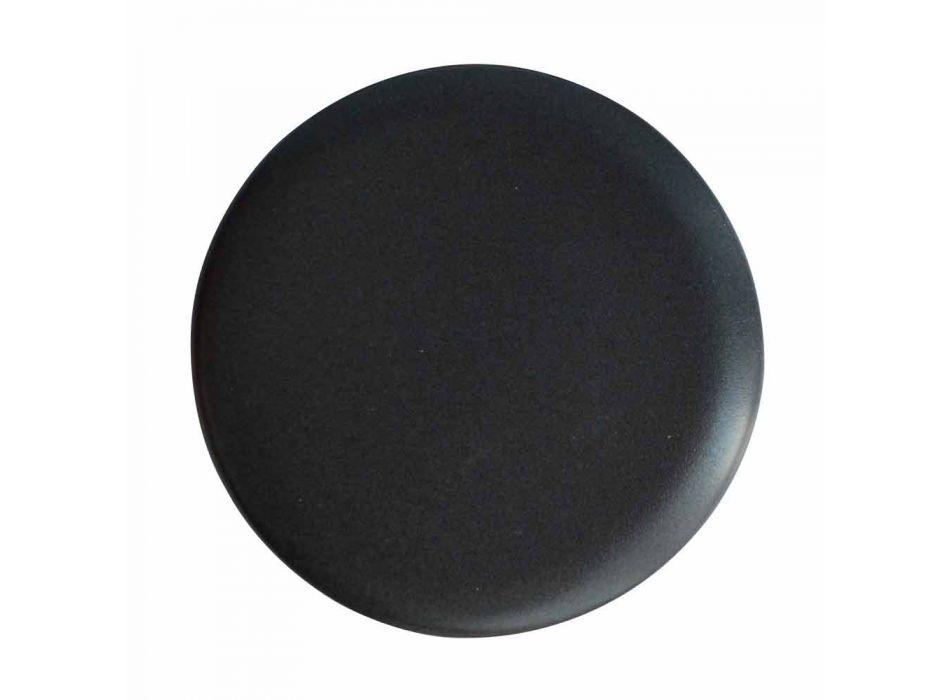 Ceramic countertop washbasin L 80cm made in Italy, Gaiola