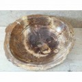 Bathroom countertop washbasin made of petrified wood Star Big,handmade