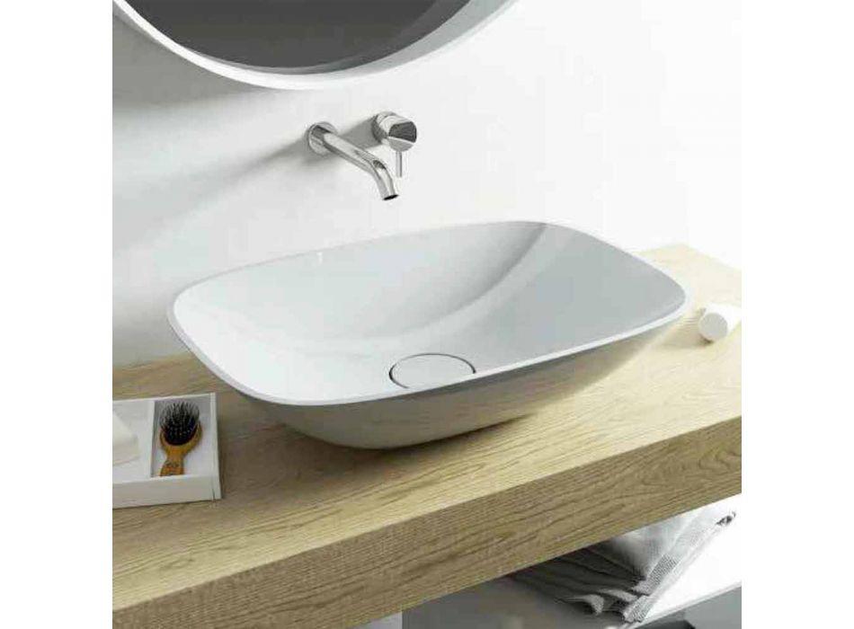 Freestanding washbasin ba modern bathroom made in Italy Taormina Medium