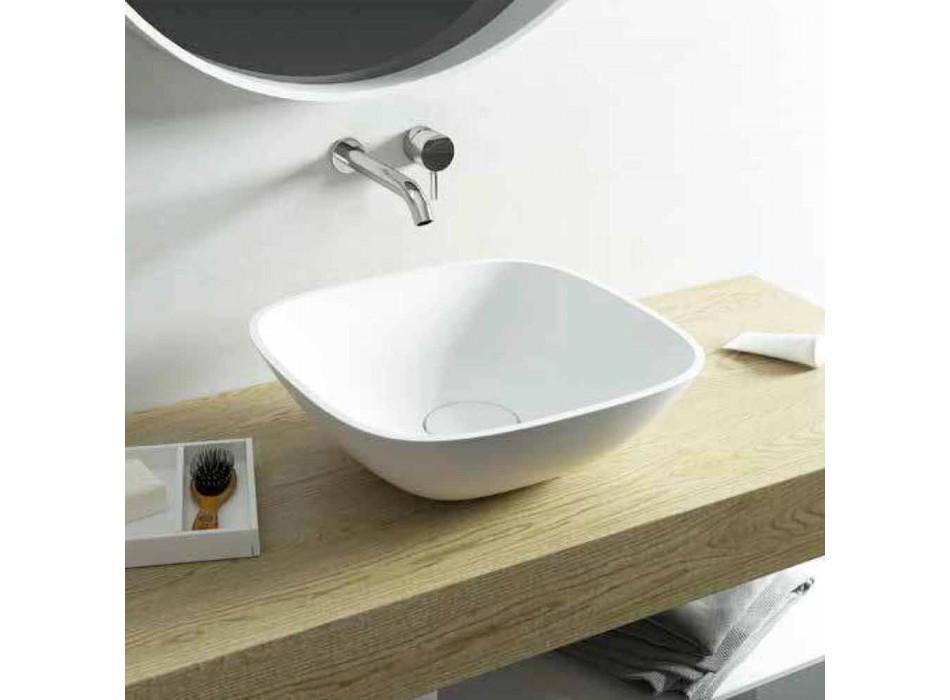 Freestanding washbasin ba square bathroom made in Italy Taormina Mini