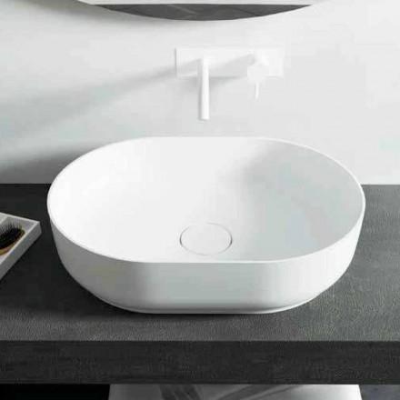 Design freestanding bathroom washbasin made in Italy Dalmine Medium