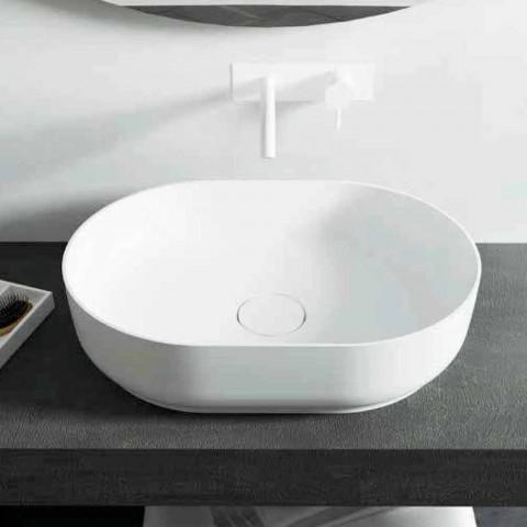 Freestanding bathroom design washbasin made in Italy Dalmine Medium