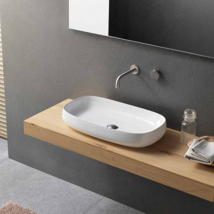 Modern Design Countertop Washbasin Made in Italy - Tune1