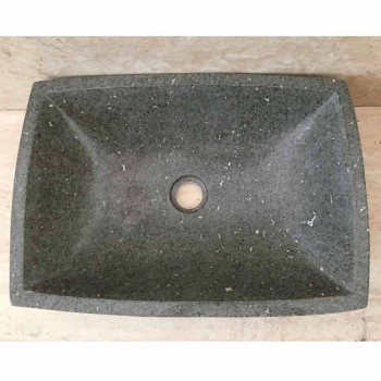 Vikas washbasin in stone and design stand, unique piece