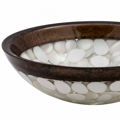 Circular handmade sink in resin, Buguggiate