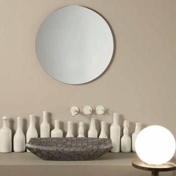 Laura design ceramic washbasin made in Italy