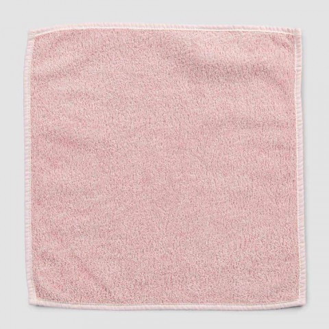 Bath Towel for Guests in Terry with Mixed Linen Border 6 Pieces - Comb