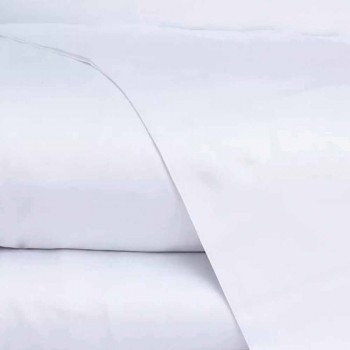 Cotton Satin Sheets Set for Double Bed Solid Color - Freesia