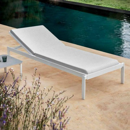 Garden Chaise Longue with or without High Quality Mattress - Filomenalet
