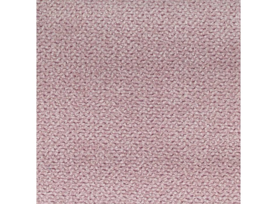 Bed with Double Container in Faux Leather or Fabric Made in Italy - Doll