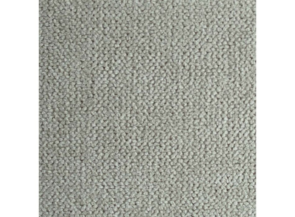 Classic Double Bed with Box in Fabric or Faux Leather Made in Italy - Lebanon