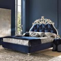 Classic double bed, without bed container, Velvet by Bolzan