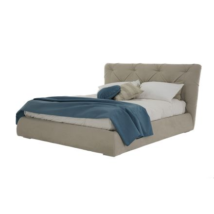 Double Bed with Modern Design Container Made in Italy - Gaven