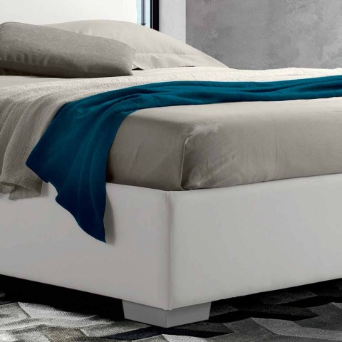 Modern Design Double Bed with Storage Box - Panama