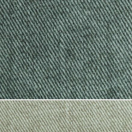 Double Bed Upholstered in Fabric or Faux Leather Made in Italy - Elettro