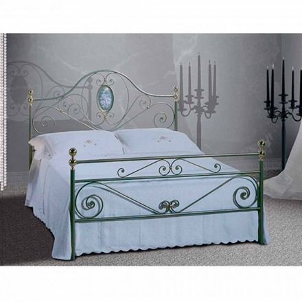 Wrought-iron double bed Altea