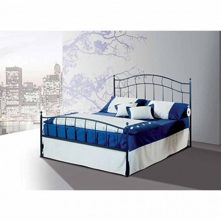 Wrought-iron double bed Ametista