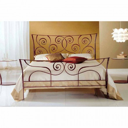 Wrought-iron double bed Ares