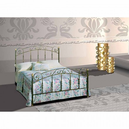 Wrought-iron double bed Diamante
