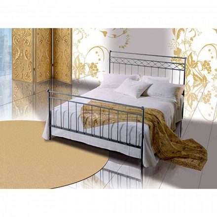Wrought-iron double bed Efesto