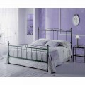 Wrought-iron double bed Fauno