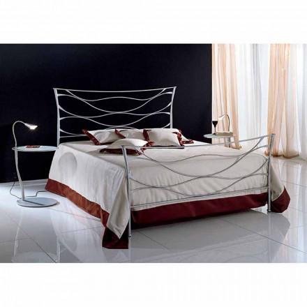 Wrought-iron double bed Idra