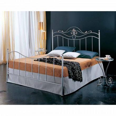 Wrought-iron double bed Lira