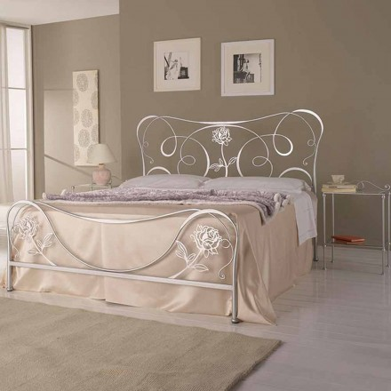 Wrought-iron double bed Nefertiti