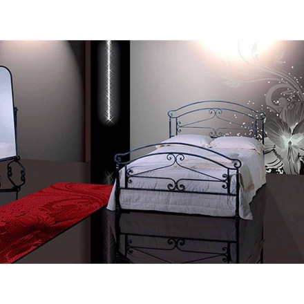 Wrought-iron double bed Orione