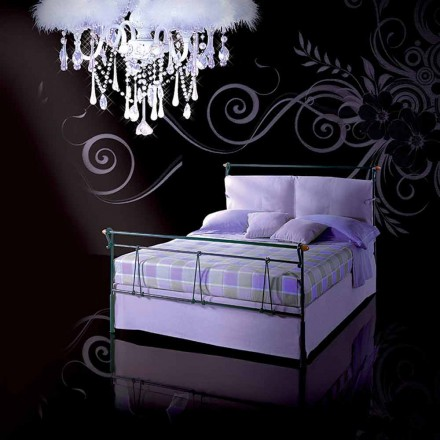 Wrought-iron double bed Perseo