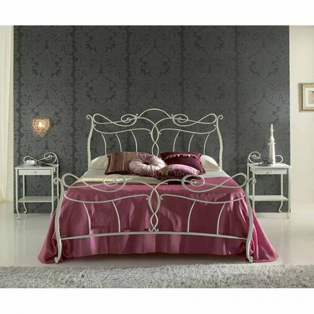 Wrought-iron double bed Venere