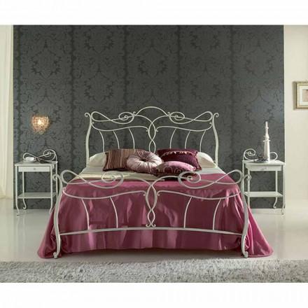 Wrought-iron double bed Venere