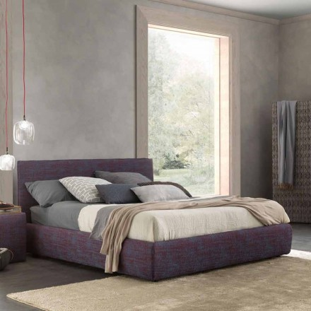 Modern double bed, with bed container, Gaya New by Bolzan