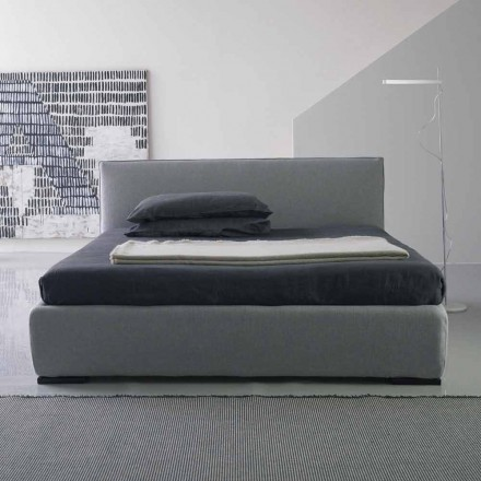 Modern double bed, without bed container, Gaya New by Bolzan