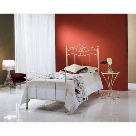 Wrought-iron single bed Lira