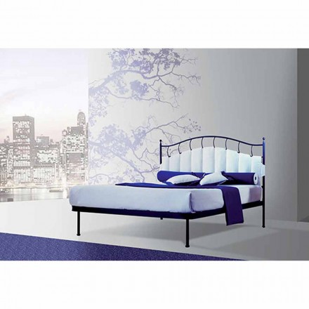 Wrought-iron small double bed Ametista