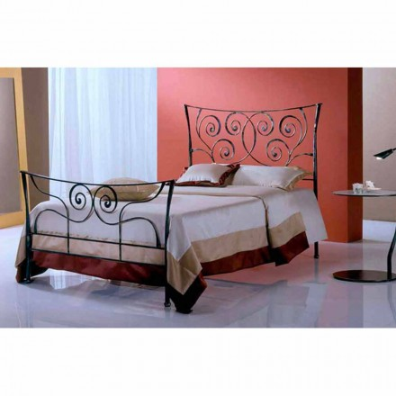 Wrought-iron small double bed Ares