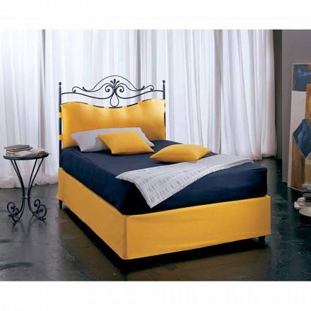 Wrought-iron small double bed Lira