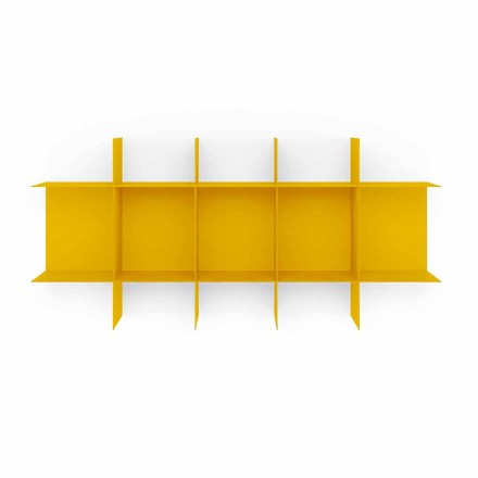 Modular Design Wall Bookcase in High Quality Metal - Roger
