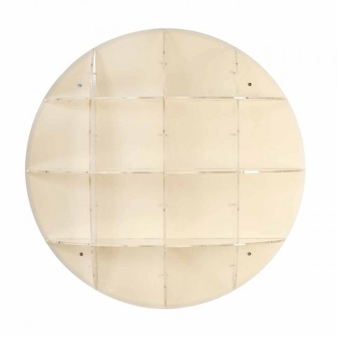 Contemporary modern beige wall light Gio, made in Italy