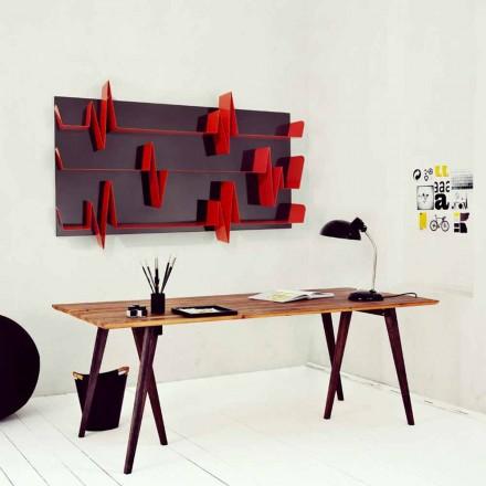 Designer bookcase Battikuore 186x101 (3 shelves) by Mabele