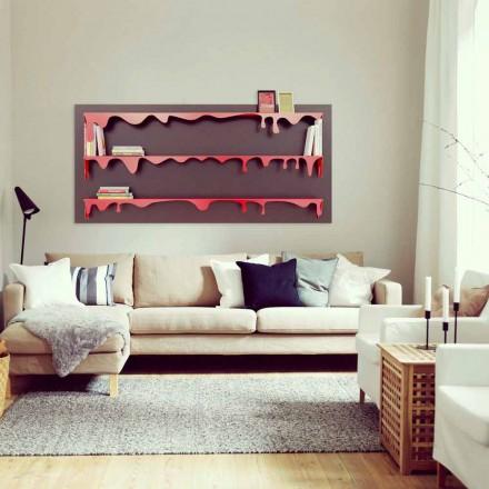 Modern design modular bookcase Kolata 186x86 (3 shelves)