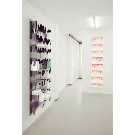 Modern design modular bookcase Kolata 50x127 (8 shelves)